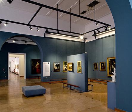 Galleria dell'Accademia Sala dell'800