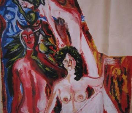 Parte del lavoro alla parete_150X180_Michela Girasole_Triennio