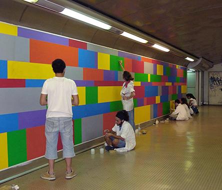 poster metro soll lewitt